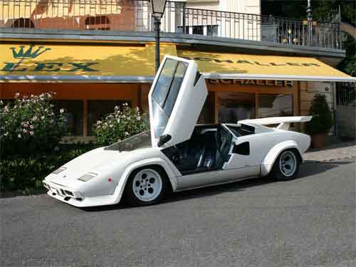 lamborghini countach 25th anniversary fiche technique. Black Bedroom Furniture Sets. Home Design Ideas