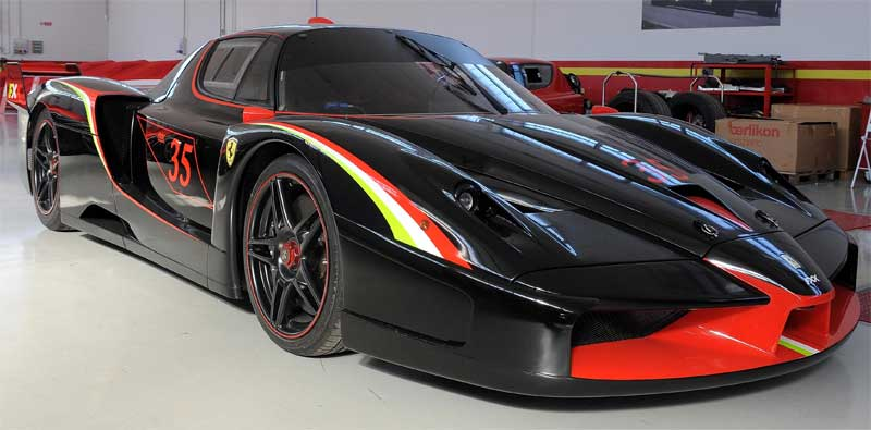 ferrari fxx fiche technique prix performances. Black Bedroom Furniture Sets. Home Design Ideas