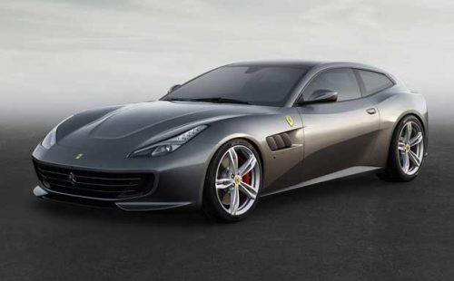 Ferrari GTC4 LUSSO grise